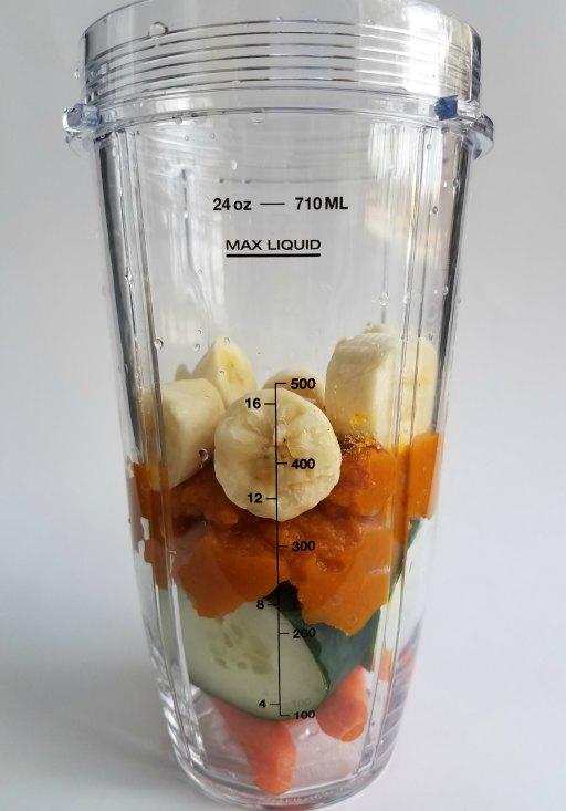 Easy Pumpkin Protein Smoothie