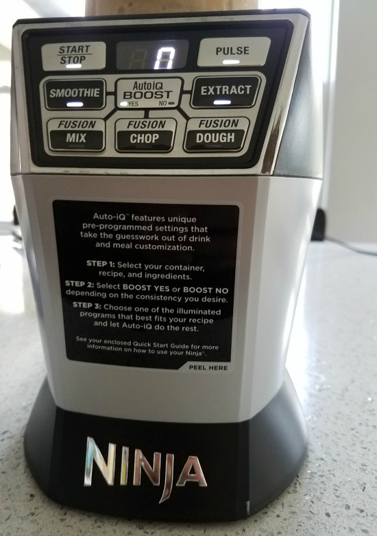 Ninja Auto iQ Blender for smoothies
