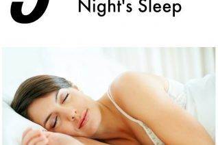 Tips For A Good Night's Sleep on Food Wine Sunshine