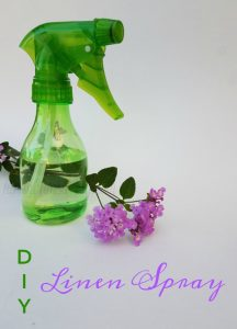 DIY Linen Spray with Essential Oils on Food Wine Sunshine