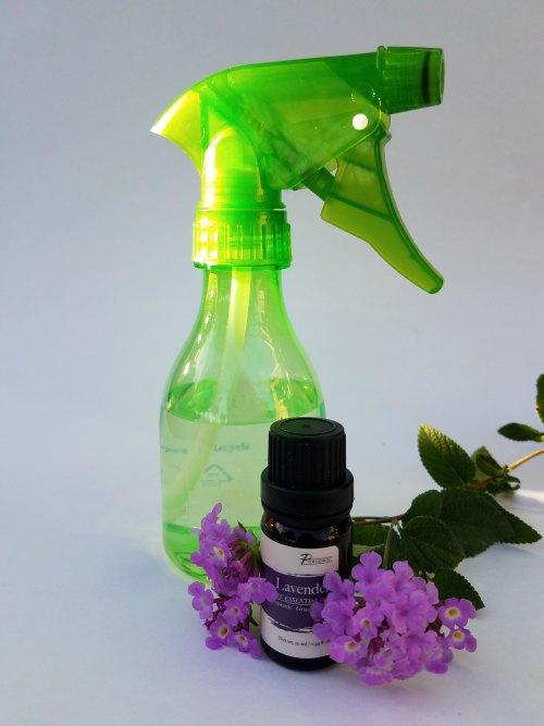 Homemade Linen Spray with Essential Oils
