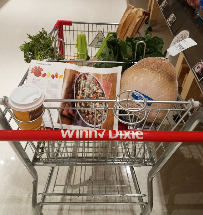 Winn Dixie shopping cart