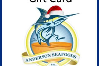 Anderson Seafoods Gift Card Giveaway