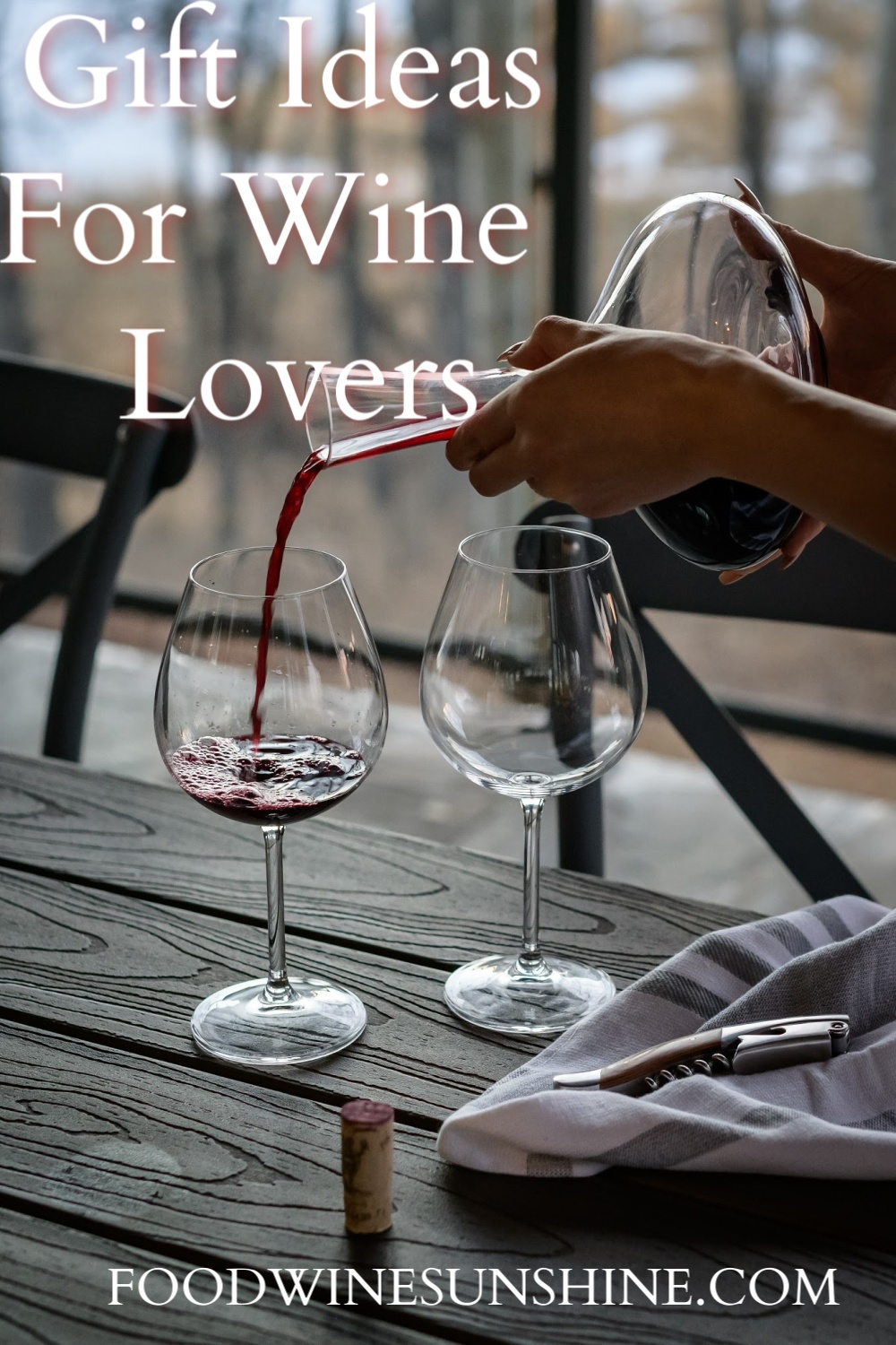 Gift Ideas For Wine Lovers Wine Aerators