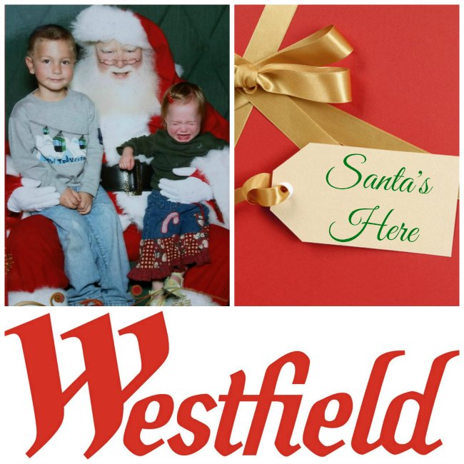 Visit Santa at Westfield Shopping Centers on Food Wine Sunshine