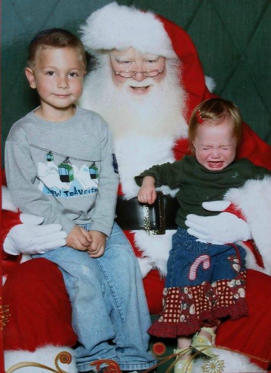 Visiting Santa at Westfield Citrus Park