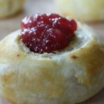 Chicken Apple Sausage Pinwheels with Tangy Cranberry Dipping Sauce on Food Wine Sunshine