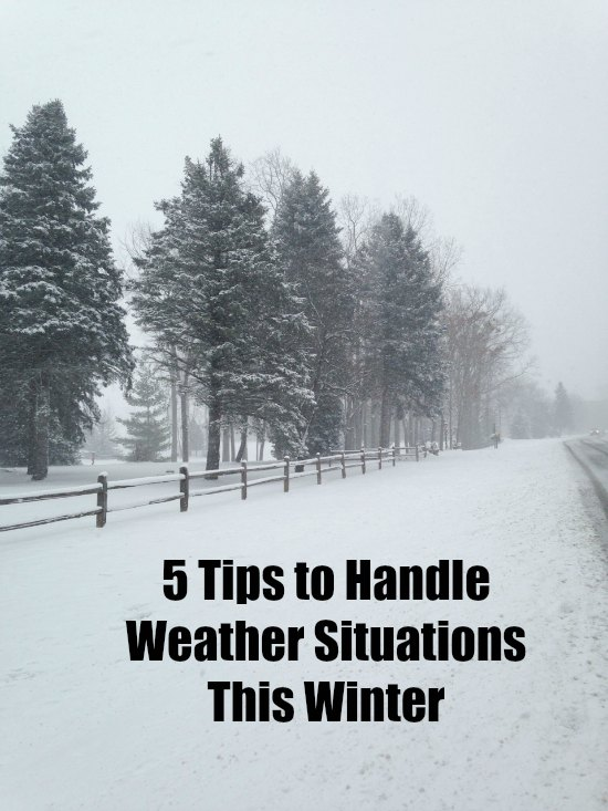 Tips to Handle Winter Weather Situations