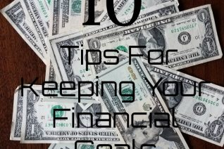 Tips For Keeping Your Financial Goals - Food Wine Sunshine