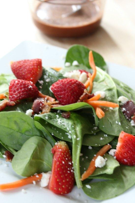 Homemade Strawberry Balsamic Vinaigrette Dressing Recipe