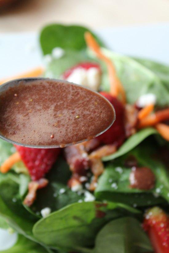 Easy Strawberry Vinaigrette Salad Dressing
