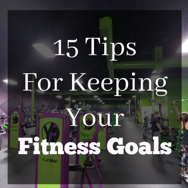 Tips For Keeping Your Fitness Goals