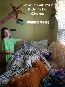 How To Get Your Kids To Do Chores - Without Yelling on Food Wine Sunshine