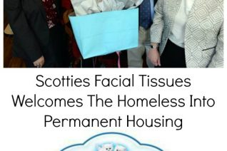 Scotties Facial Tissues Welcomes The Homeless Into Permanent Housing on Food Wine Sunshine