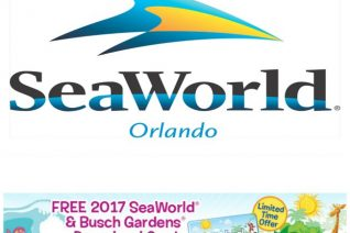 SeaWorld Preschool Card 2017 on Food Wine Sunshine