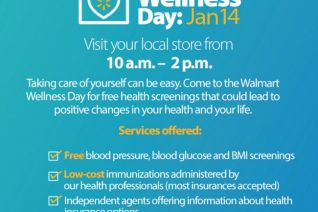 Walmart Wellness Day - Free Health Screenings on Food Wine Sunshine