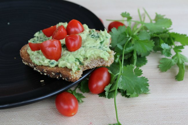 Easy Avocado Tomato Toast
