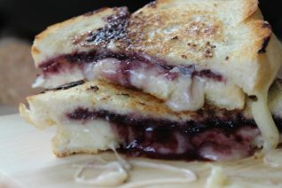 Grilled Cheese and Jelly Sandwich