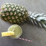 Avocado Pineapple Banana Protein Smoothie on Food Wine Sunshine