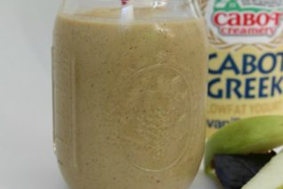 Mango Carrot Green Protein Smoothie on Food Wine Sunshine