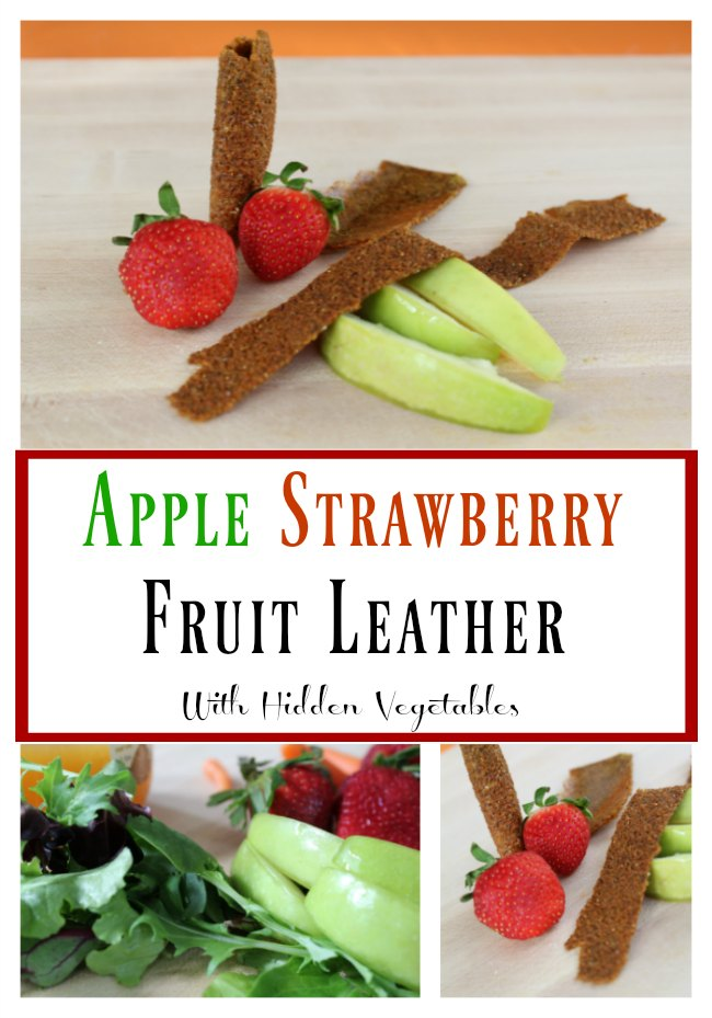 Apple Strawberry Fruit Leather