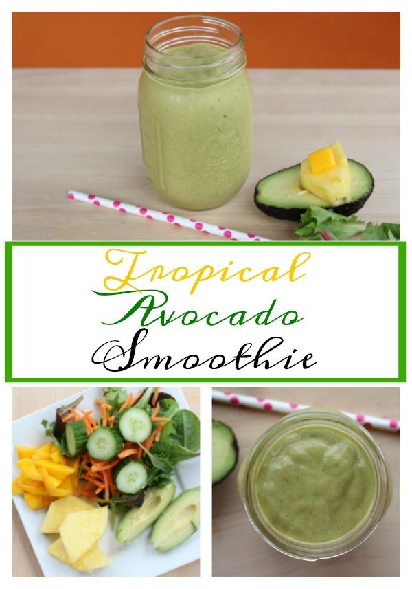 Tropical Avocado Smoothie