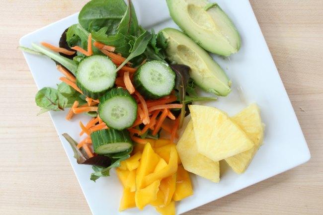 Easy Avocado Tropical Protein shake