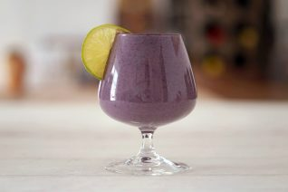 Pineapple Blackberry Sweet Potato Smoothie