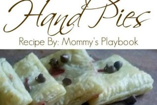 Chocolate Strawberry Hand Pie Recipe featured on Food Wine Sunshine