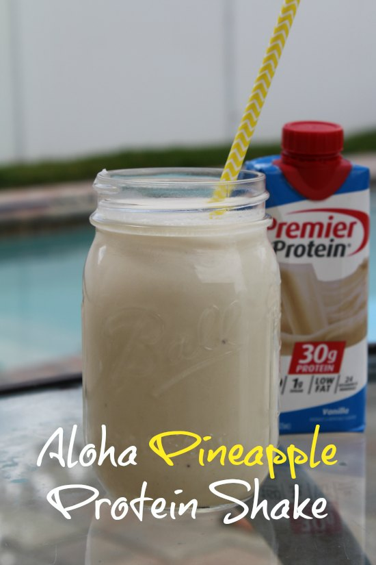 Easy Pineapple Protein Shake Recipe