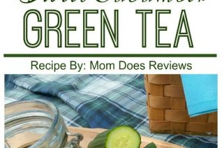 Sweet Cucumber Green Tea Recipe featured on Food Wine Sunshine