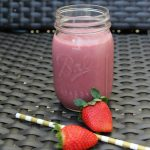 Strawberry Blackberry Sweet Potato Smoothie on Food Wine Sunshine