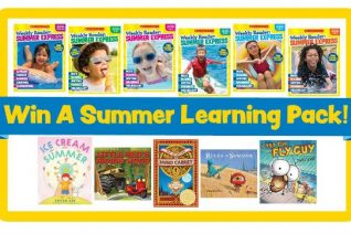 Scholastic Prize Pack + $50 Visa Gift Card Giveaway on Food Wine Sunshine