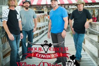 Soul Circus Cowboys at Winn Dixie Free Rodeo Event - Food Wine Sunshine
