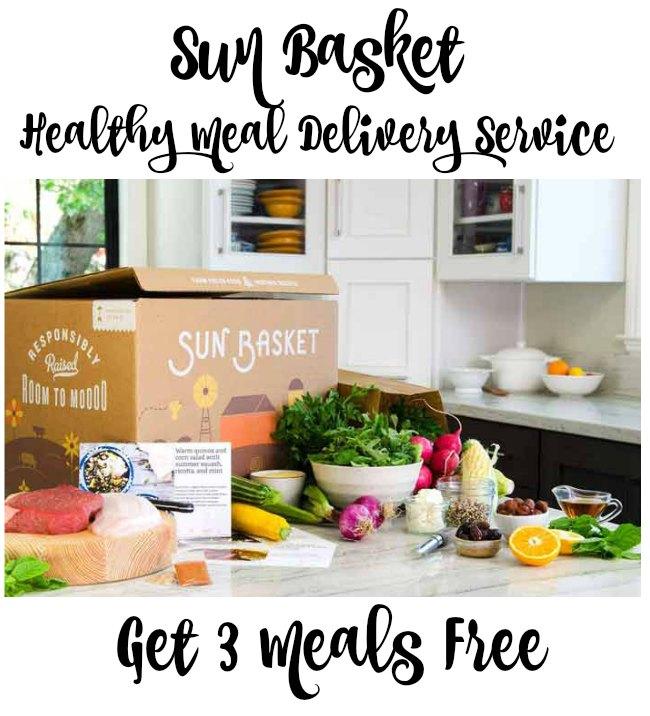 Sun Basket Healthy Meal Delivery Service - Get 3 Meals Free on Food Wine Sunshine