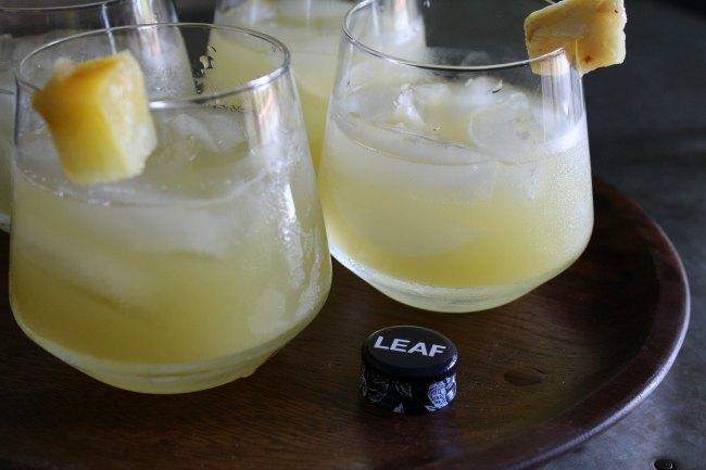 Easy Aloha Sunset Wine Cocktail