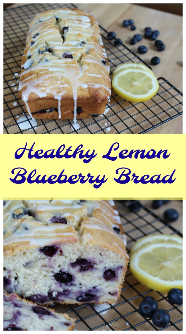 Healthy Lemon Blueberry Bread Recipe