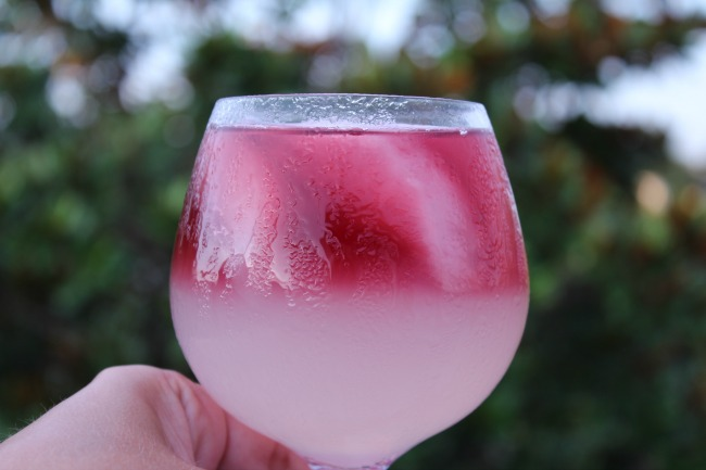 Cab Vodka Lemonade Wine Cocktail