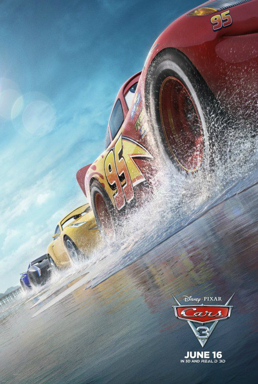 Cars 3 Movie Review - From A Dad and Son on Food Wine Sunshine