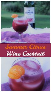 Summer Citrus Wine Cocktail - Food Wine Sunshine