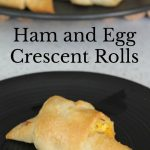 Ham and Egg Crescent Rolls