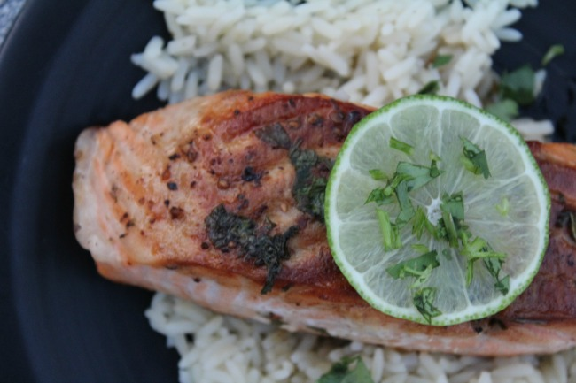 Best Cilantro Lime Salmon