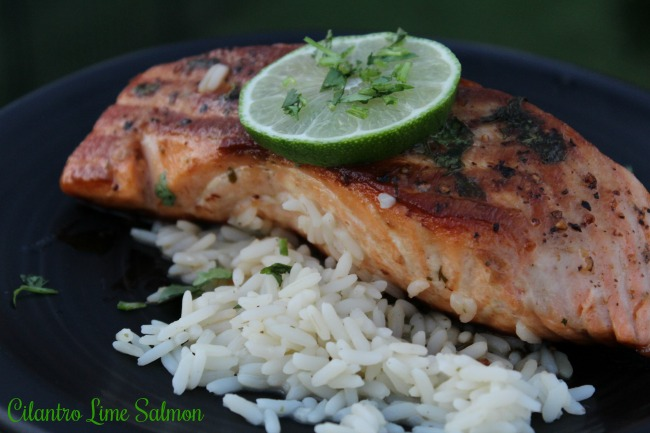 Amazing Cilantro Lime Salmon