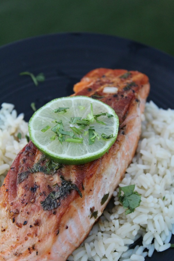 Easy Cilantro Lime Salmon