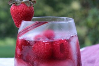 Simple Sippin' Vodka Sangria Spritzer-image