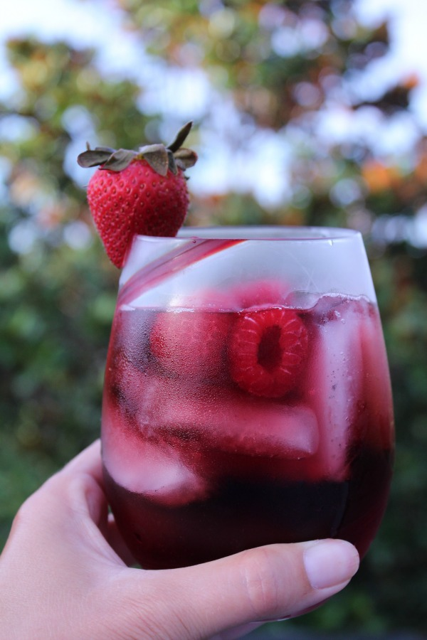 Vodka Sangria Cocktail