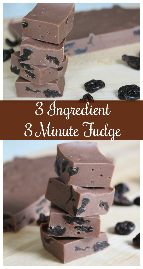 3 Minute Fudge Recipe