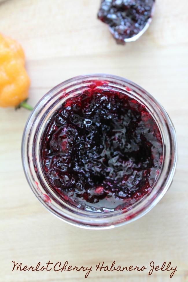 Best Merlot Cherry Habanero Jam