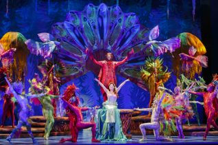 Little Mermaid at The Straz Center in Tampa