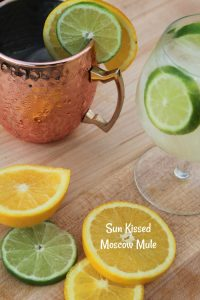 Sun Kissed Moscow Mule - Food Wine Sunshine